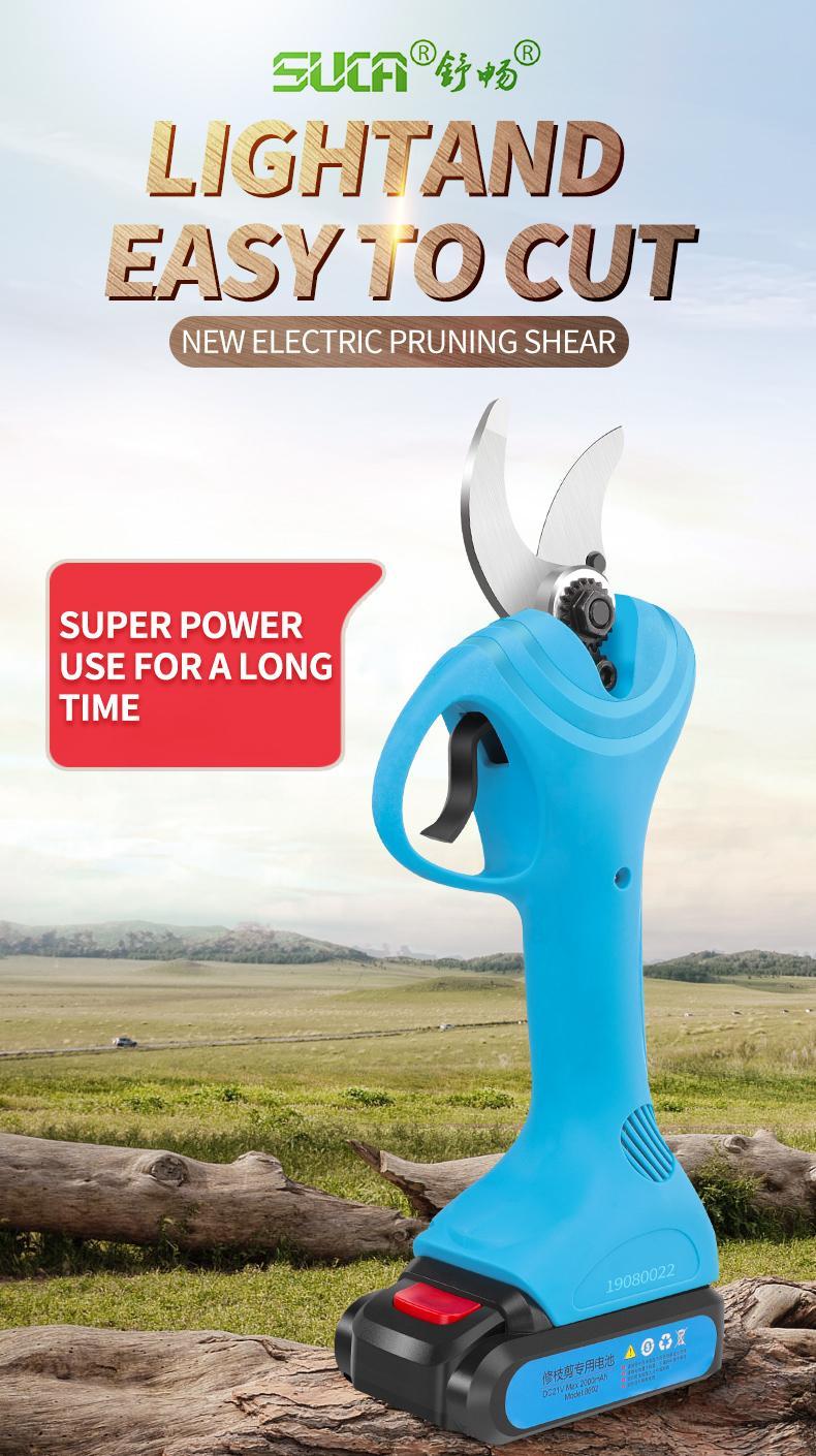 舒暢電剪子剪樹枝,電動修枝剪,電動剪刀 6