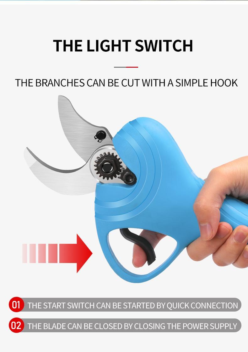 舒暢電剪子剪樹枝,電動修枝剪,電動剪刀 14