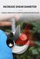 舒暢電剪子剪樹枝,電動修枝剪,電動剪刀 13