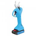 舒暢工廠電動修枝剪,鋰電動剪刀,無線充電樹枝剪,電動果樹剪刀 6