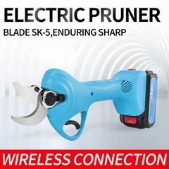 舒暢工廠電動修枝剪,鋰電動剪刀,無線充電樹枝剪,電動果樹剪刀