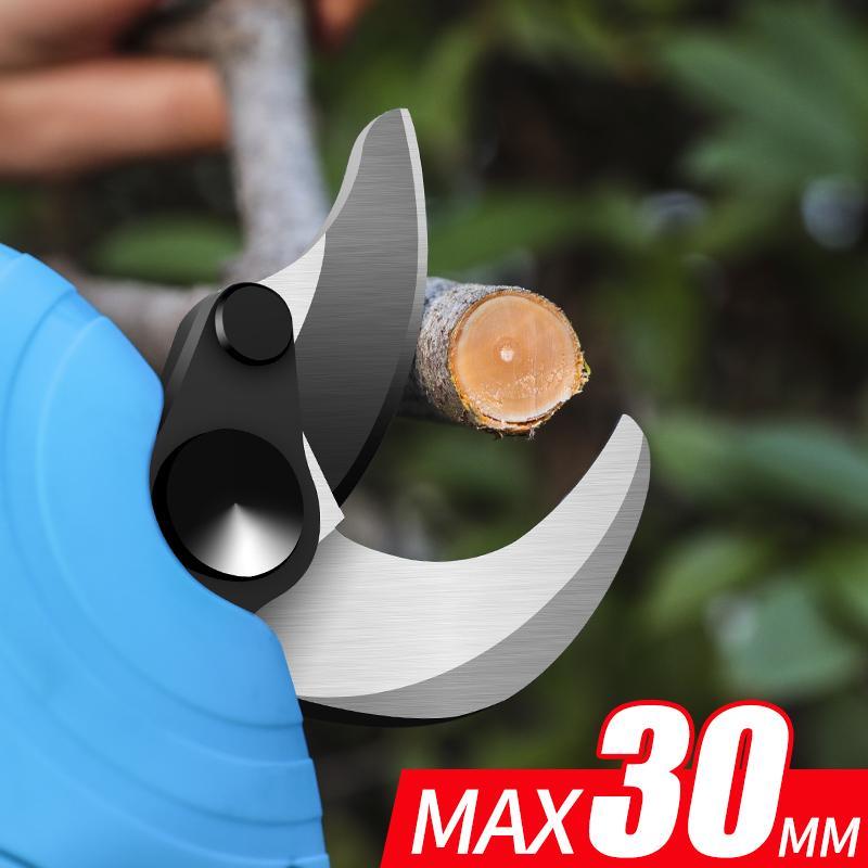 新款舒畅21V电剪电动果树剪果树修枝剪锂电园林剪充电剪     4