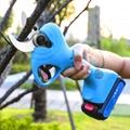 新款舒暢21V電剪電動果樹剪果樹修枝剪鋰電園林剪充電剪     8