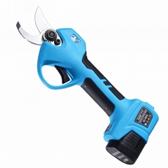 SUCA Battery Pruning Shear with Finger Protection Electric Pruner Scissors