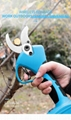 SUCA Electric Pruning Shears, Power  Pruner with Lithium Battery 14