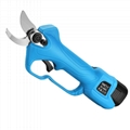 Battery operated tree branch cutter,