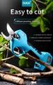 Portable mini electric garden shears