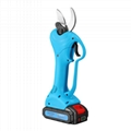 Rechargeable battery pruning shears