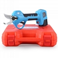 Powerful battery operated pruning shears