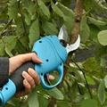 Electric hand operated pruners