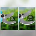 Li-battery pruning shears