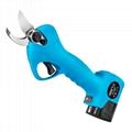 Lithium pruning scissors