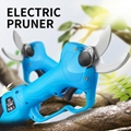 Portable pruning shear electric