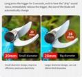 Lithium garden scissors