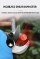 Rechargeable electric pruner