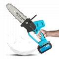 Battery operated chainsaw