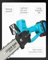 Mini chainsaw cordless