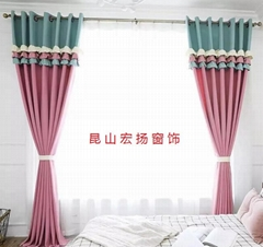 昆山安装窗帘