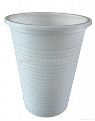 绿色环保可生物降解玉米淀粉一次性环保水杯170ml