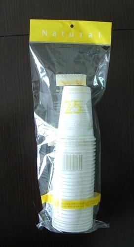 绿色环保可生物降解玉米淀粉一次性环保水杯170ml  4