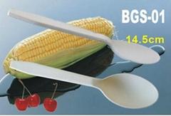 一次性玉米淀粉可生物降解餐具