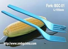 Biodegradable cornstarch eco-friendly cutlery
