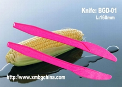 Disposable biodegradable cornstarch eco-friendly cutlery