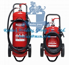 MOBILE TROLLEY FIRE EXTINGUISHERS, Dry