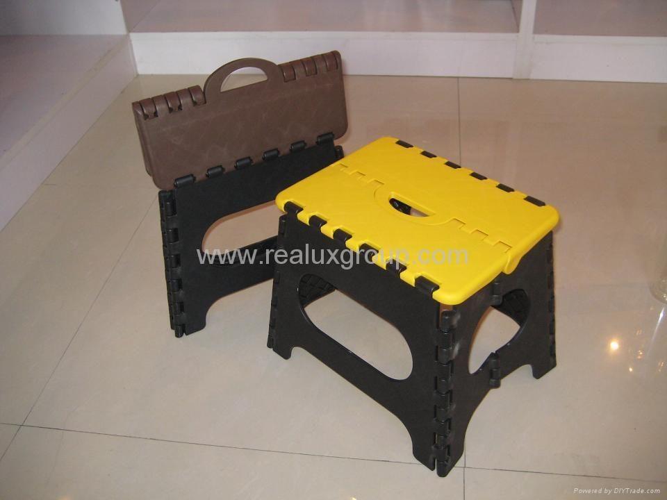 塑料折叠凳 1