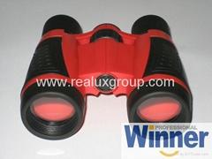 5X30玩具型望遠鏡(專為孩童用設計帶安全扣掛繩)