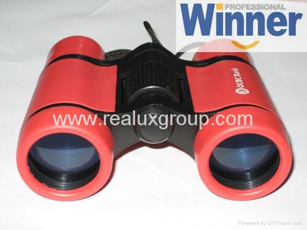 5X30玩具型望远镜(专为孩童用设计带安全扣挂绳) 2