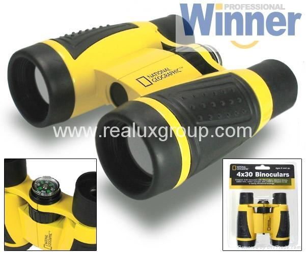 5X30玩具型望远镜(专为孩童用设计带安全扣挂绳) 4