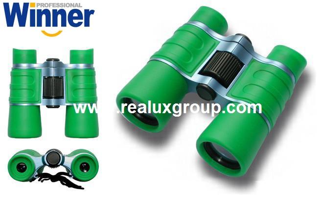 4X30玩具型望远镜(专为孩童用设计带安全扣挂绳) 3
