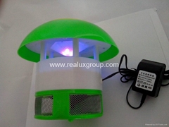 可充电型灭蚊器,带蓄电池,断电后能继续工作的捕蚊器