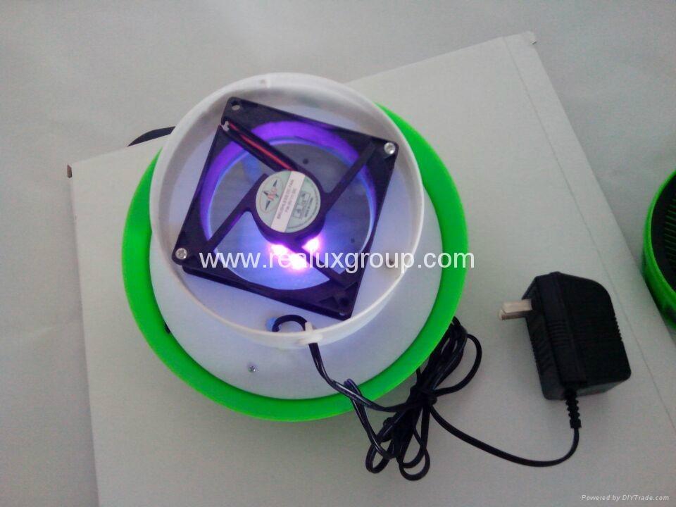 可充电型灭蚊器,带蓄电池,断电后能继续工作的捕蚊器 2