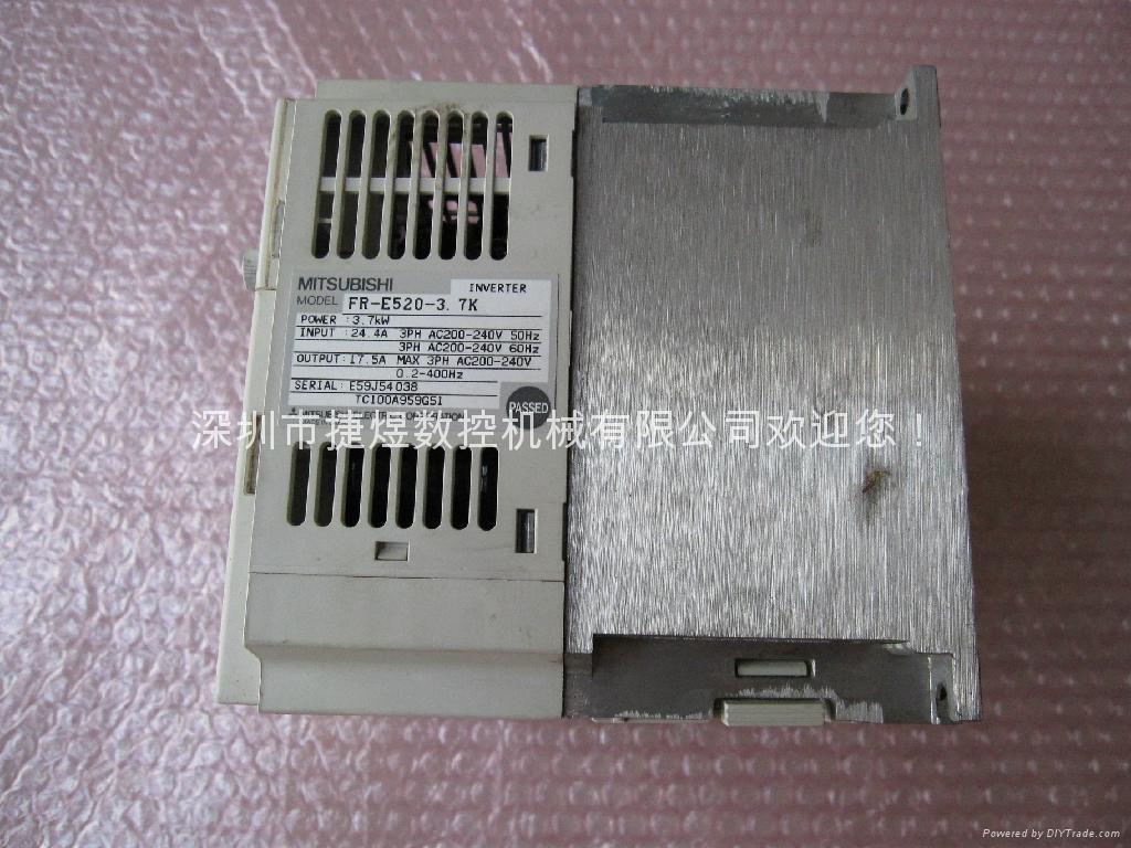 FR-E520-3.7K.三菱变频器 4