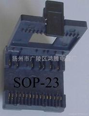 SOP型集成电路老化测试夹具