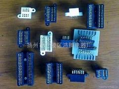 LJZ雙列集成電路老化測試插座