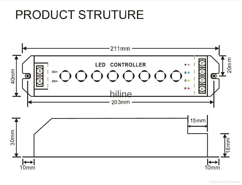 LED RGB controller 3