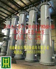 YKD block-type round hole type graphite heat exchanger