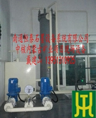 YKch type graphite sulfuric acid dilution cooler