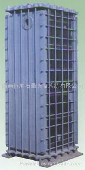 3JK- type rectangle square hole type graphite heat exchanger 5