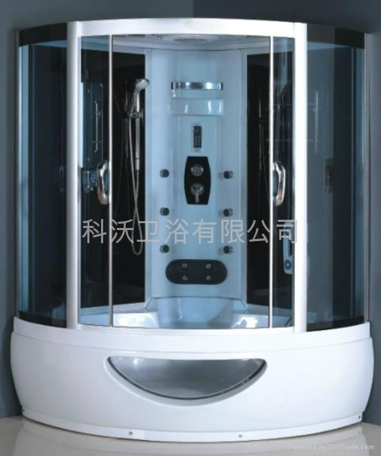 Hot 515usd set double steam shower room kw b027 kower china manufacturer products - All you need to know about steam showers ...