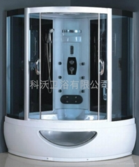 HOT (515USD/SET)double steam Shower room