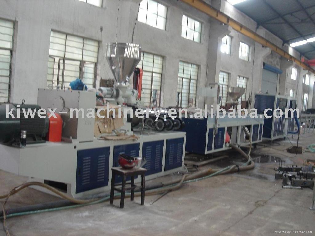 PVC pipe production line  1