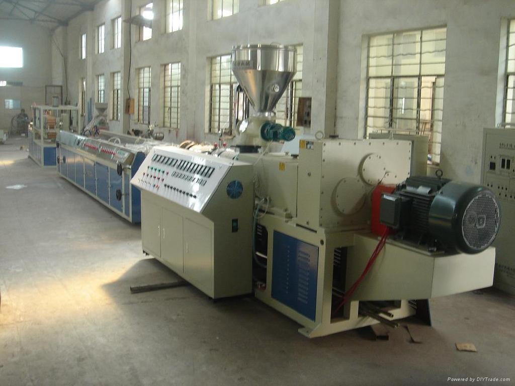 Plastic Special-Shaped Profile Extrusion Production Line (SJYF) 1