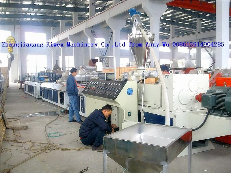 PVC profile production line  1
