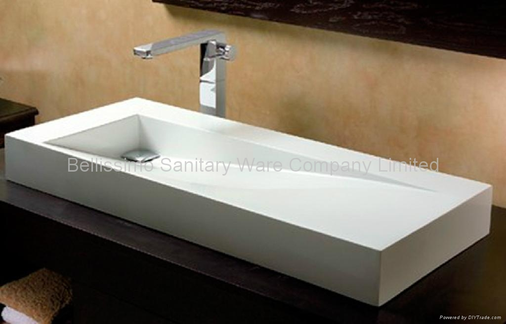 Stone Resin Sink : Modern Stone Resin BS-8401 - Bellissimo (China Manufacturer) - Sink ...