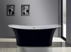 Long bath,Stone Bathtub BS-8627