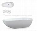 China acrylic freestanding bathtubs BS-6203B
